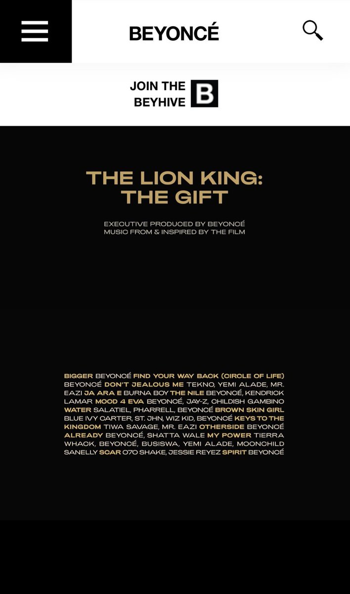 Busiswa and Moonchild are featured on Beyoncé's album 🙌🏾🔥🔥🔥👏🏽👏🏽