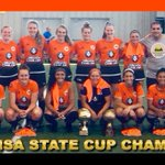 Image for the Tweet beginning: SUN RESERVES CROWNED STATE CHAMPS The @DetroitSunFC