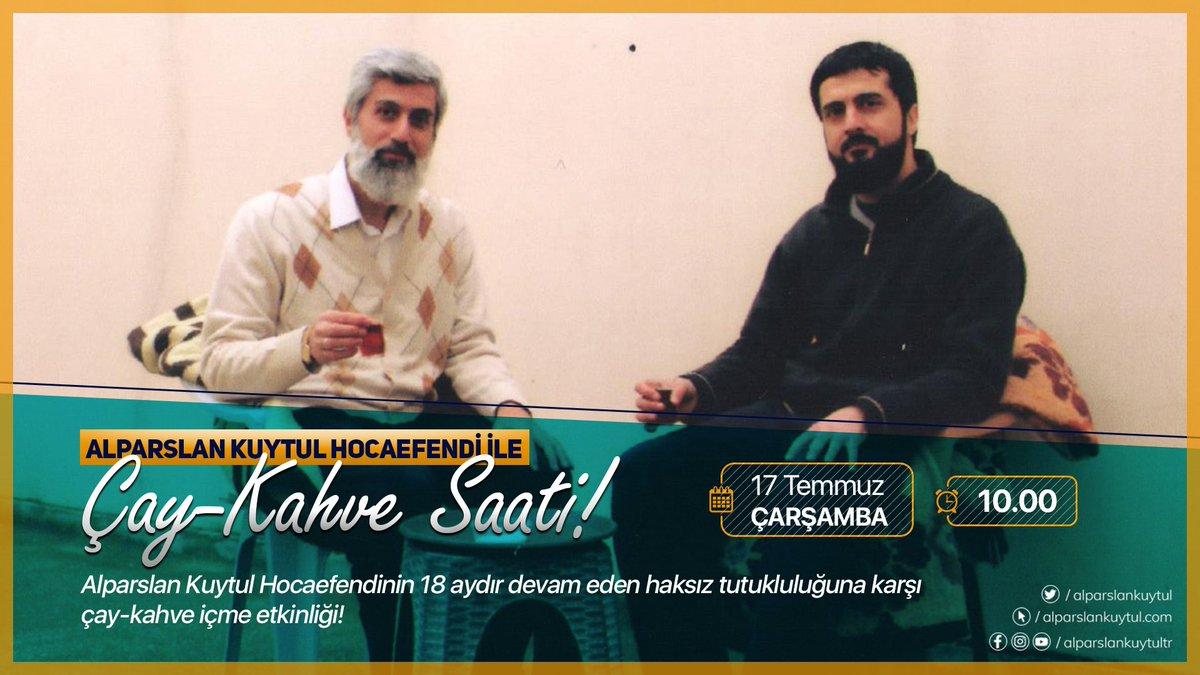 Alparslan Kuytul Hocaefendi ile çay-kahve içme etkinliği devam ediyor... https://t.co/QUlDfED8RE