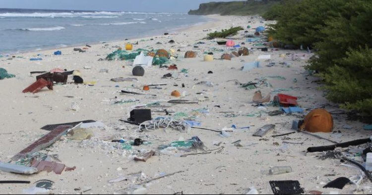 I don't understand the people who throw their garbage outside. I hope our future beaches don't look like this. Please stop using plastic or at least recycle. Use reusable glass bottles. A. Saves you $ .B. You save the 🌎.#eswb #plasticpollution #nolittering
