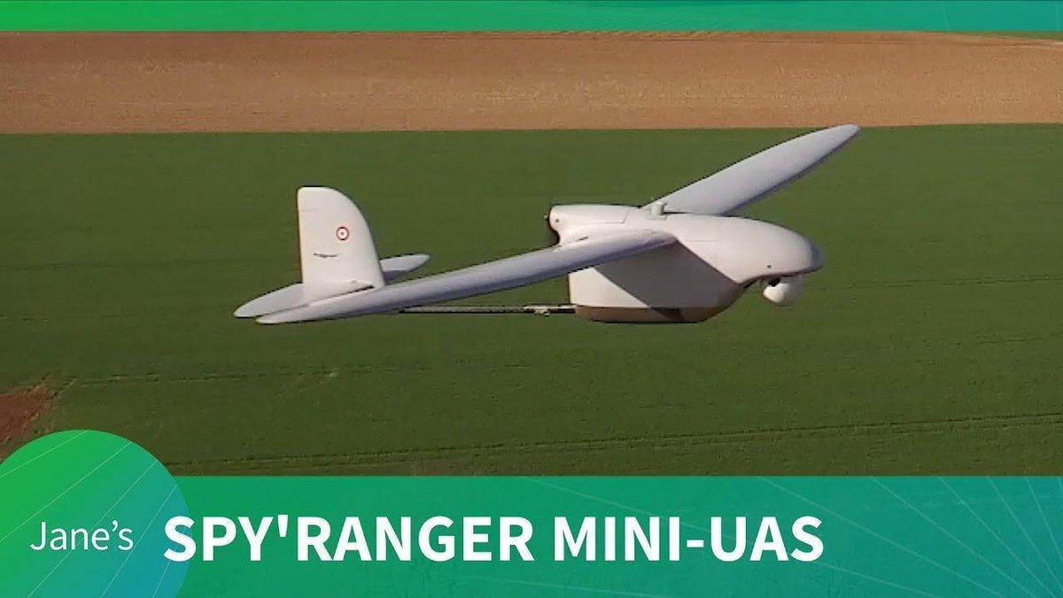Paris Air Show 2019: #Thales unveil Spy'Ranger 550 mini UAS https://buff.ly/2XvUQxv @thalesgroup #parisairshow2019 #parisairshow