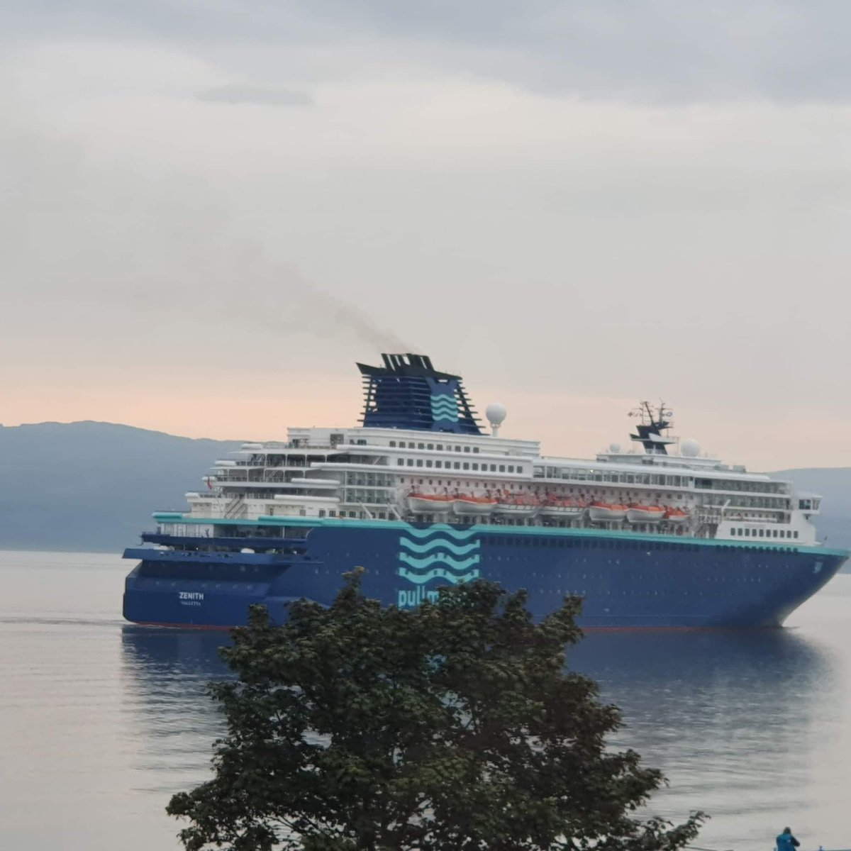 Pictures of Zenith #CruiseShip coming into #Greenock #Inverclyde #Scotland this morning from the Esplanade. Thanks to Jim Sandra Wilson for the pictures. #ScotlandIsNow #VisitScotland #LoveScotland #DiscoverInverclyde #RiverClyde #Sailing #mustseascotland #MarineTourism