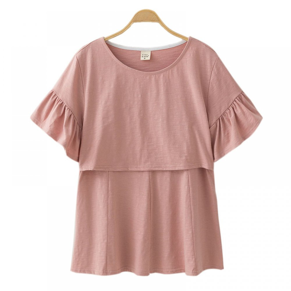 #familytime #mother Cotton Maternity Breastfeeding Clothing https://womankids.com/cotton-maternity-breastfeeding-clothing/…