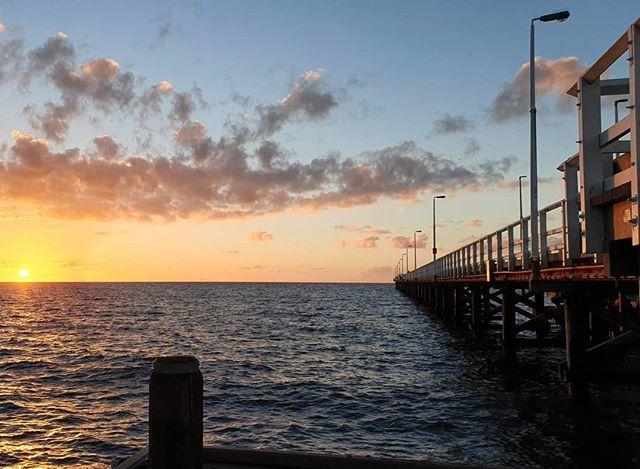 Another West Coast Sunset.  #jetty #nofilter #sunset #travel #clouds #westernaustralia #seeaustralia https://ift.tt/2lJtHKl