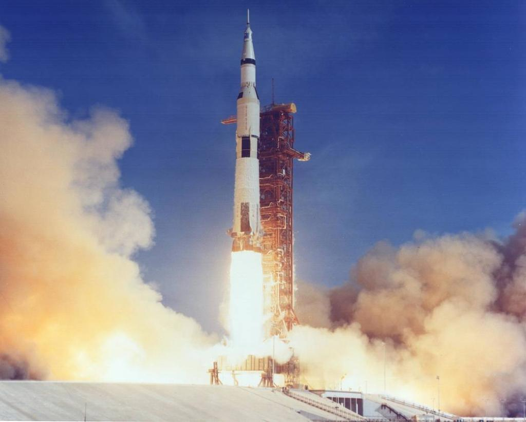 At 9:32am ET, the #Apollo11 launch occurred sending three astronauts on a trajectory to the Moon. As we celebrate our #Apollo50th anniversary, learn more about this mission: nasa.gov/specials/apoll…