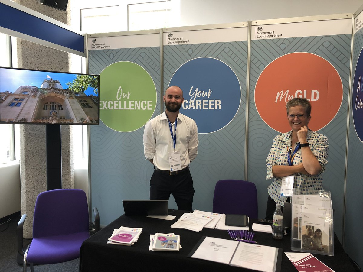 A rare quiet moment at the Government Legal Department stand     at #CivilServiceLive in London. Earlier I joined a rich roundtable discussion about The Future Connected Civil Servant.  #skills #flexibleworking #culture #choice