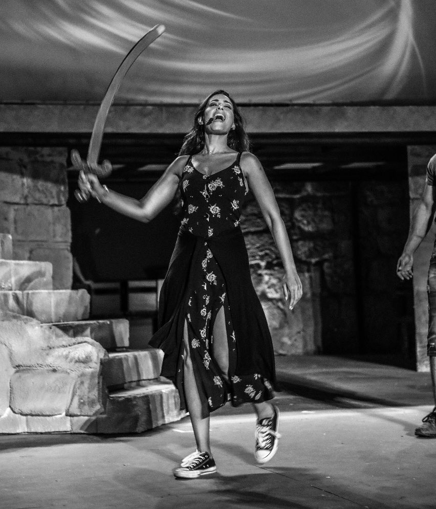 From the rehearsals of Moulouk Al Tawaef- ملوك الطوائف 🇹🇳 Don't miss it tonight in #Carthage 💥Written & composed by the great Mansour RahbaniProduced by Marwan, Ghady & Oussama RahbaniDirected by Marwan Rahbani@FestivaldeCart1 #tunisia #تونس #قرطاج