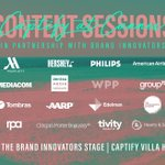 *Stay tuned for the @Captify at Cannes Content Sessions launching this week*. Hear over 60 world-leading brands & agencies engage in lively debates & discuss industry hot topics, live from the @Brand_Innovator stage #CaptifyatCannes #CannesLions #BISummit