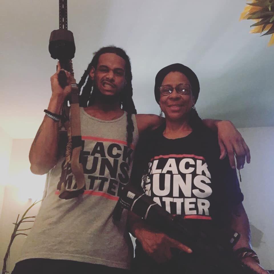 The family that sprays together stays together. blackgunsmatter.myshopify.com #blackgunsmatter