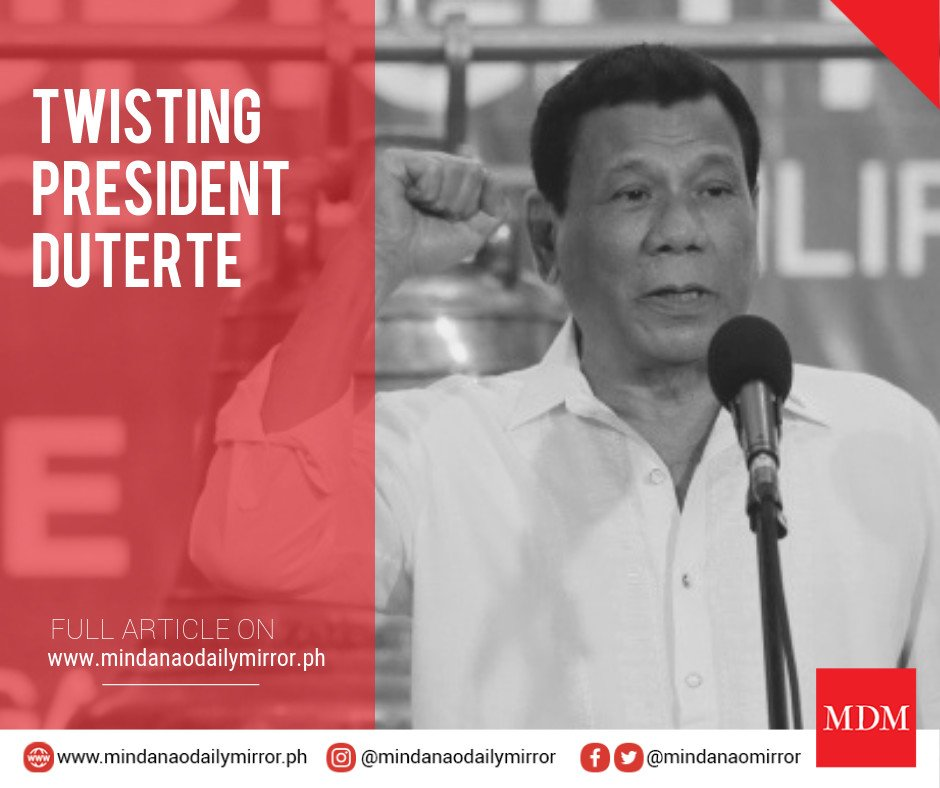 Did President Duterte really mock Iceland? Details here ⬇️  https://mindanaodailymirror.ph/Main/full_article/twisting-digong2338 …  #MindanaoDailyMirror #MDM #PRRD #Iceland #UNHCR