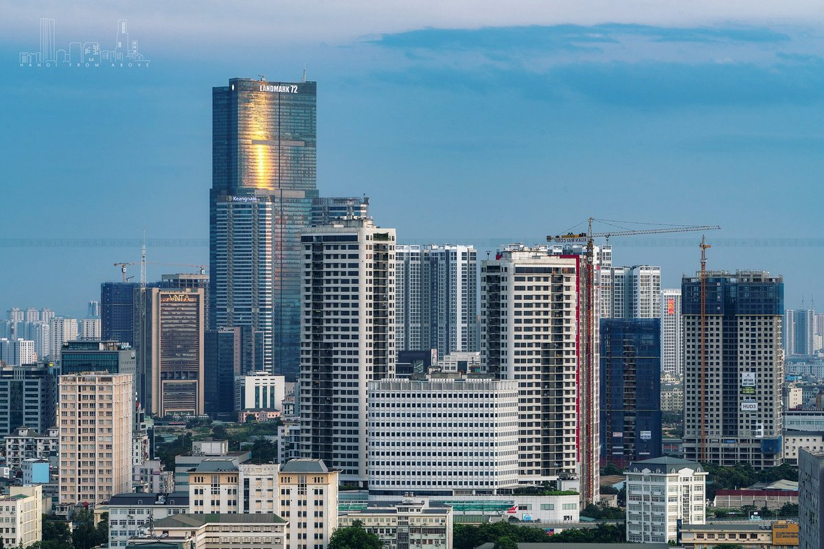 Beautiful, modern Hanoi seen from above. Photo by: HanoiFromAbover ... #Hanoi #Vietnam #city #explorer #exploremore #explore #ExploreHanoi #ハノイ #ベトナム #하노이 #베트남 #SoutheastAsia #PhotoOfTheDay #photography