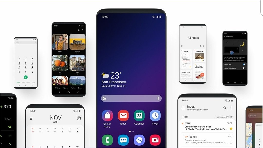 According to @SamMobiles sources, Samsung will launch its new OneUI 2.0 version based on the #AndroidQ system at the end of this year, while Galaxy S11 will come with an updated interface, UI One 2.1