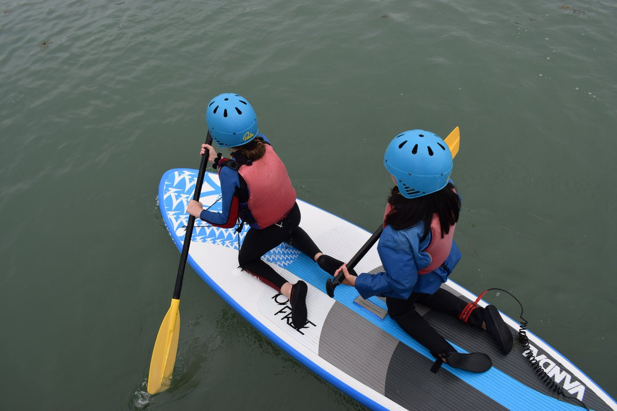 Year 6 had a fantastic time at @uksasailing on the #IsleofWight for their last residential. Activities ranged from #paddleboarding trips down the river and practising #kayaking skills in the marina to #sailing keel #boats, dinghies and #windsurfers out in the harbour. #SeaChange