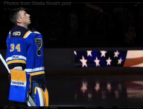 PLEASE RT!  Have the St. Louis Blues been invited to the White House? NHL players stand for the National Anthem! @StLouisBlues @WhiteHouse @realDonaldTrump @VP #StanleyCup