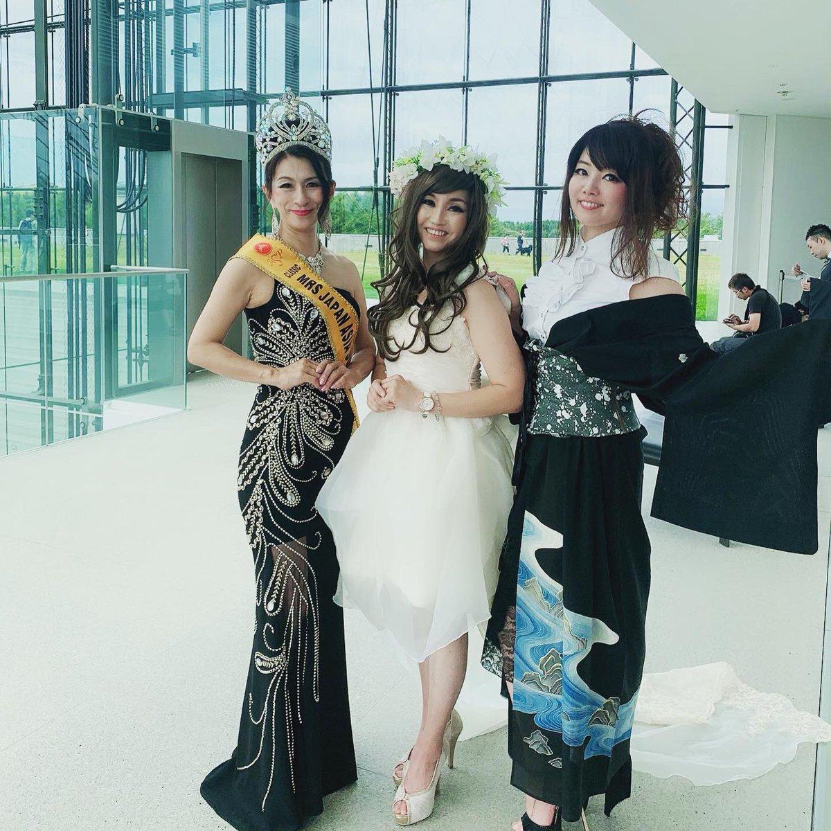 ドレスプロジェクト第5弾 「カーニバル」  司会進行させていただきました😊  教師が主催の想いのこもったイベント👗  本当に素敵なイベントでした😊 #イサムノグチ #モエレ沼公園 #ガラスのピラミッド