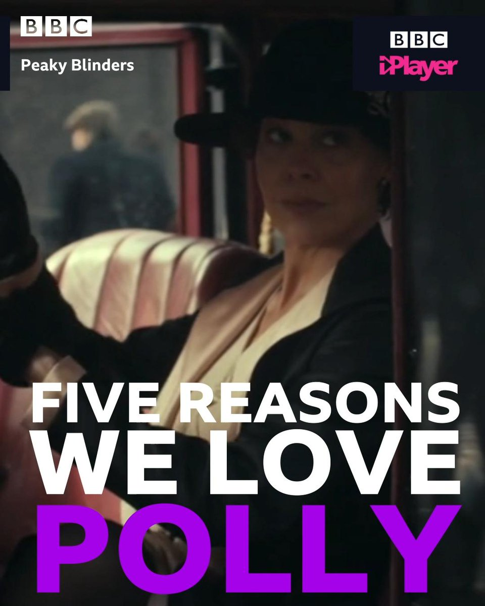 By order of the #PeakyBlinders… you do NOT mess with Polly Gray 😎