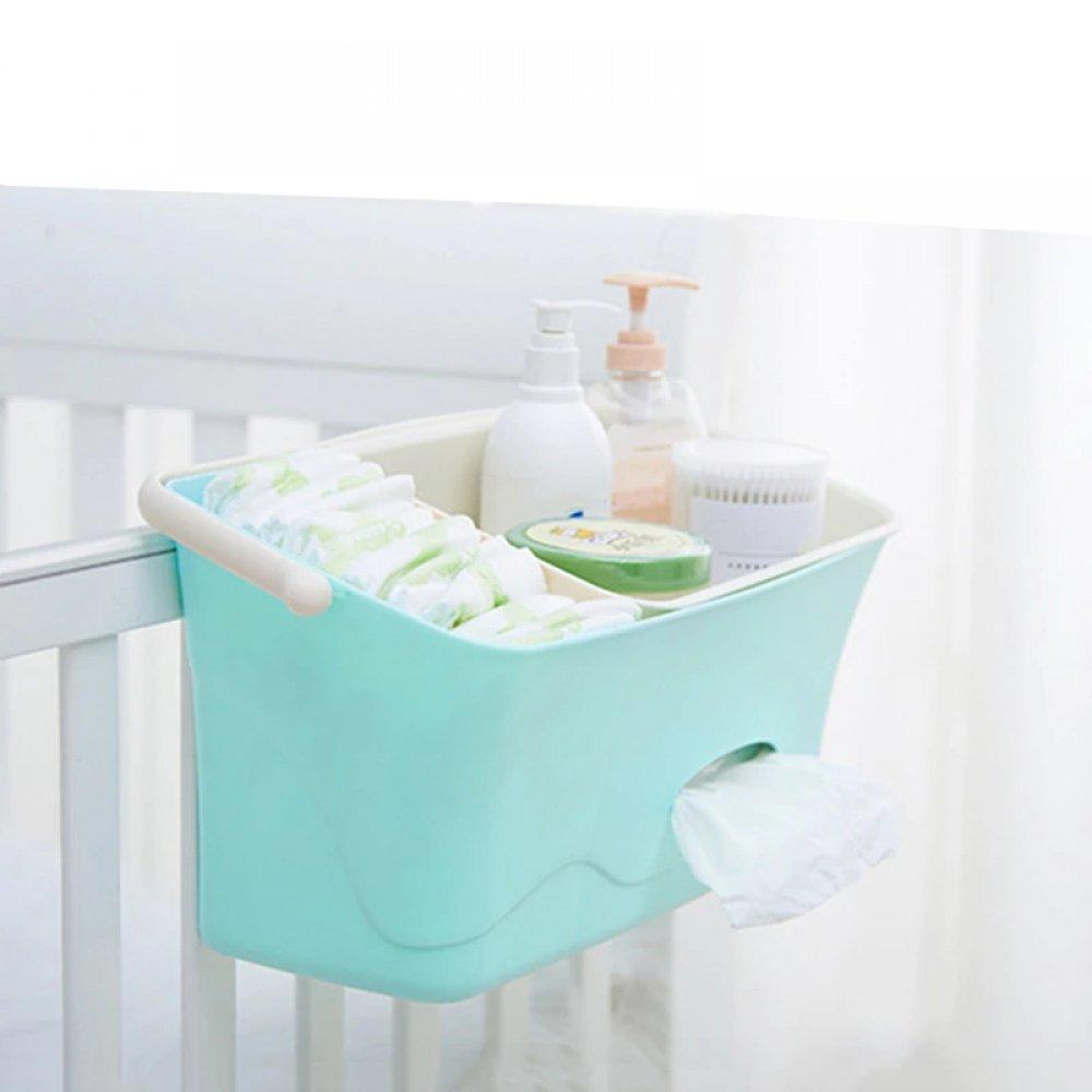#babies #maternity Bed Hanging Diaper Organizer