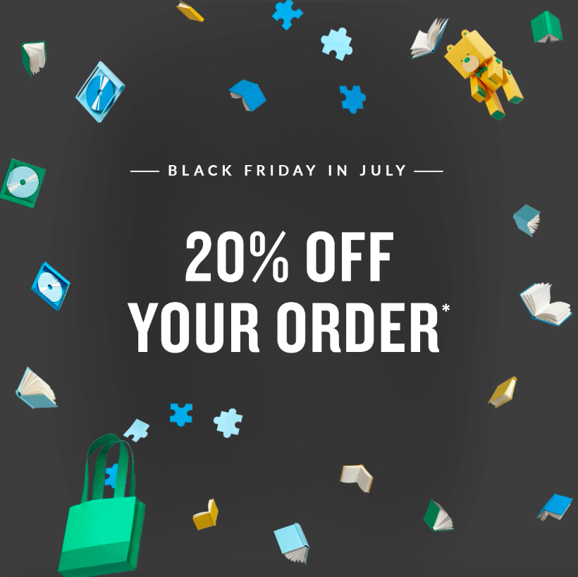 Last chance, ends today! Save 20% with the code JULYREADS, exclusions may apply: spr.ly/6010EaMYq
