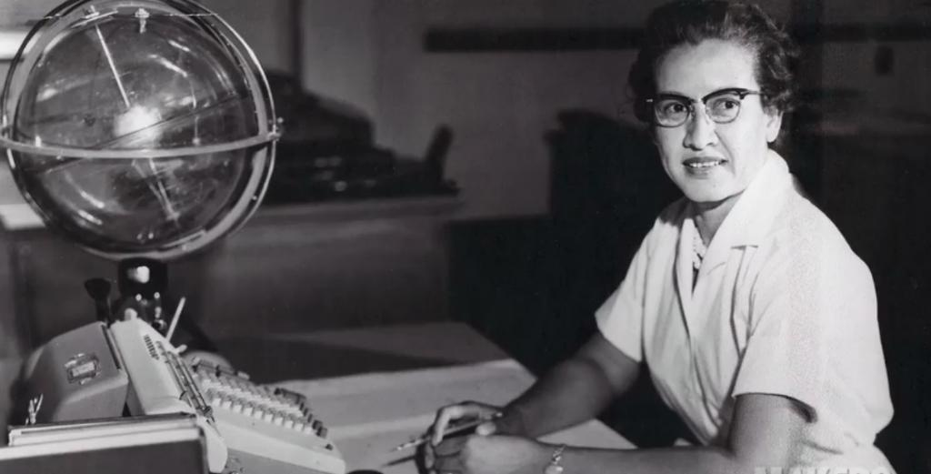 """""""I went to work every day for 33 years happy. Never did I get up & say I don't want to go to work."""" Katherine Johnson's calculations were crucial to syncing the Lunar Lander w/ the Command & Service Module. Remember the women who made #Apollo50th possible: https://go.nasa.gov/2JOA9Ia"""