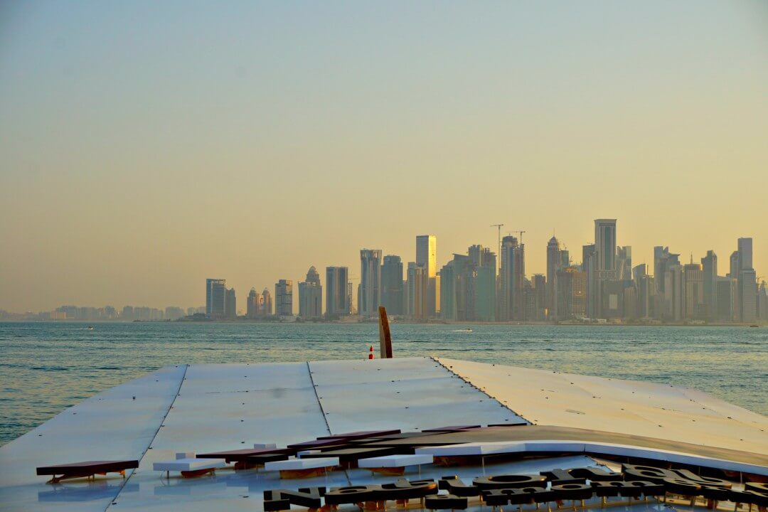 It's 5 o'clock, Doha. Cheers! #Qatar http://www.google.com/maps?q=Doha+Qatar…