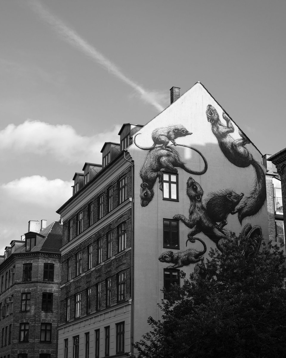 Copenhagen views. #bnw_captures #bnw #bnw_soul #bnwphotography #mitkbh #cph #copenhagen #street #monochrome #Denmark #vesterbro #blackandwhitephotography #noirblanc