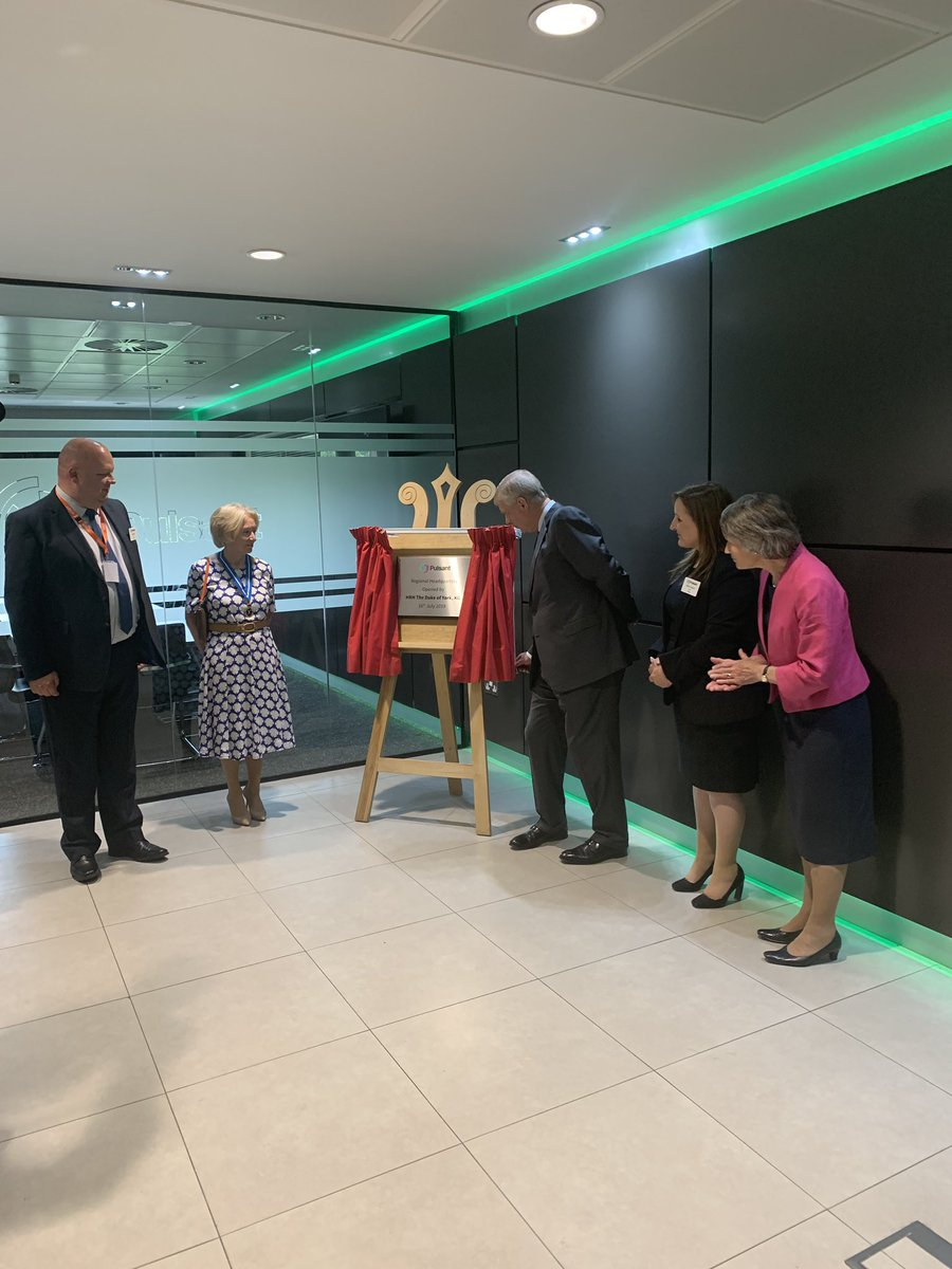 @PulsantUK HQ was officially opened by @DukeofYork_HRH today. The new facility in Gateshead, which employs 100, was described as a commitment to #tech & #skills investment in the #NorthEast