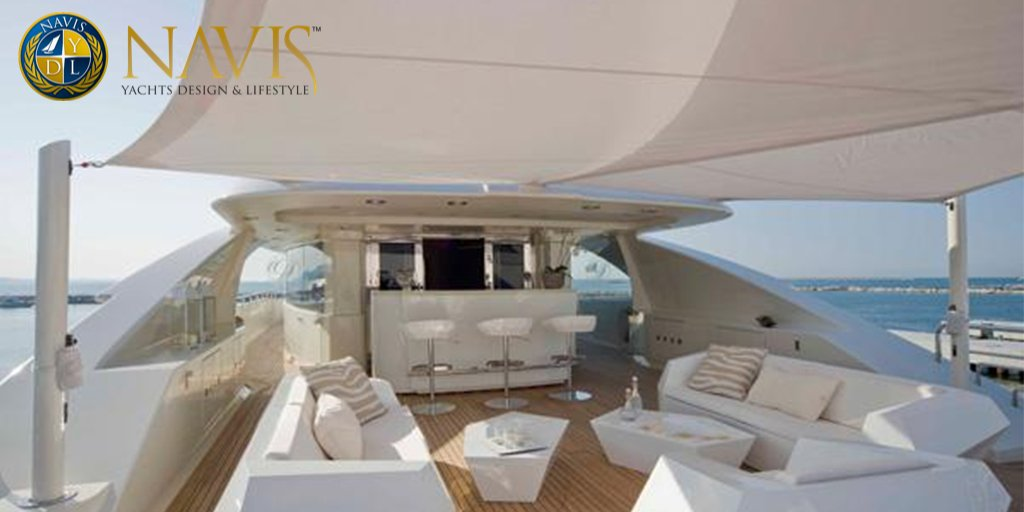 Cristina and Alexandre Negoescu specialize in interior yachts designs, apartments, villas, chalets, museums, art galleries, theatres, auditoriums and furniture among others. #wallycento #supersailing #sailing #luxury #superyacht #navy #boating #boats  #travel #yachtlife