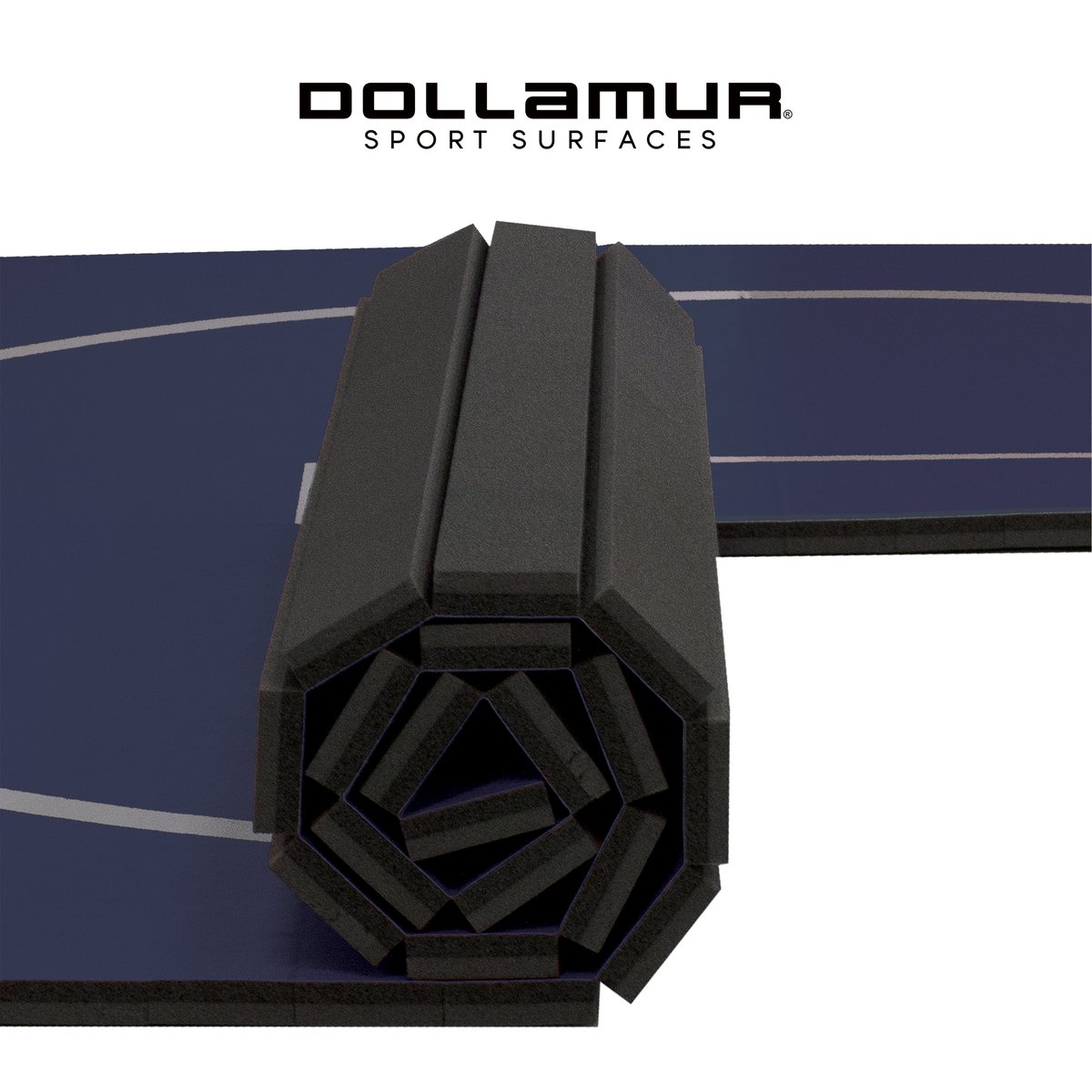 """The #Dollamur Wrestling FLEXI-Roll® #Home Mat has the same great performance, 1.25"""" high quality sports foam, and durable anti-microbial vinyl surface as the mats you compete on!  Shop home #wrestling: https://bit.ly/2LS1onQ"""