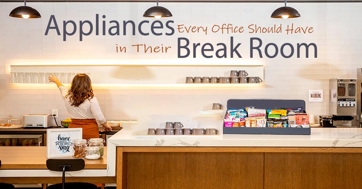 Blog: Appliances Every Office Should Have in Their Break Room Blog Link: https://getit.qa/blogs/posts/appliances-every-office-should-have-in-their-break-room… #blog #officebreakroom #appliance #teakettle #coffeemaker #waterpurifier #refrigerator #oven #getit #doha #qatar