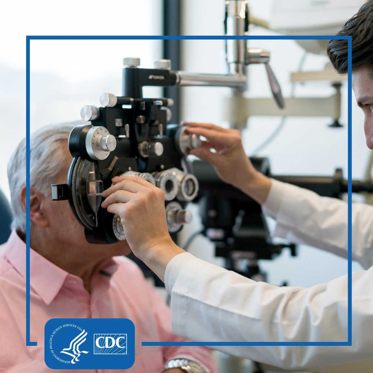 #DYK: People with #diabetes should get an eye exam every year! Here's why: https://bit.ly/2zEqn8G