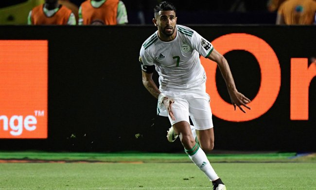 #Mahrez says AFCON title is the main target for #Algeria, thanks #Egypt for successful hosting #AFCON2019 http://english.ahram.org.eg/NewsAFCON/2019/338049.aspx…