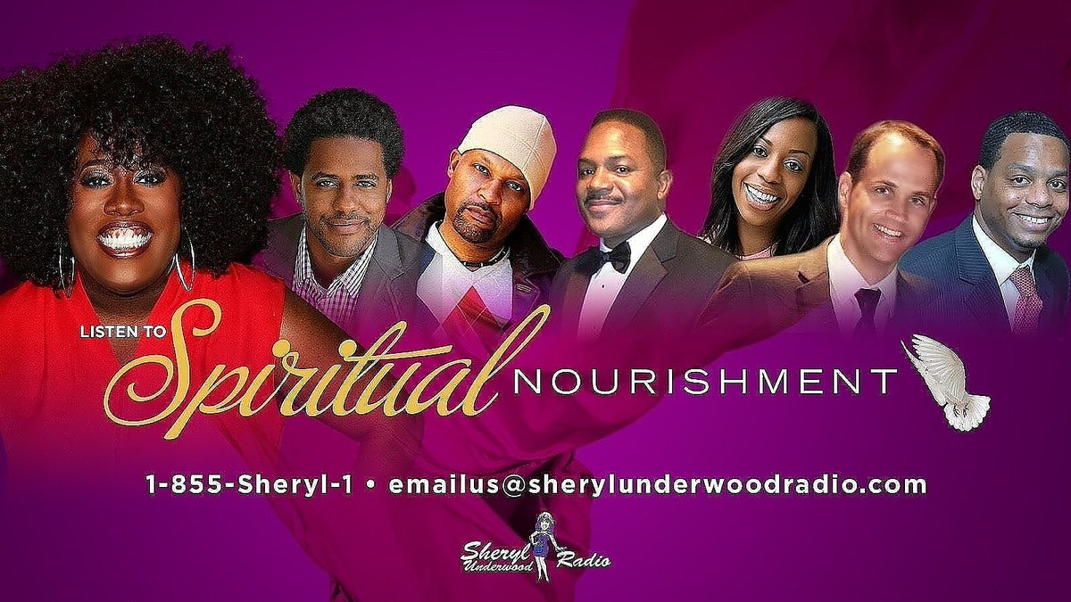 #UpNext Spiritual Nourishment Show with @sherylunderwood & friends out of the U.S.A 11am-1pm AST/ET http://soarisemusic.com/soariseradio #listentotheshow #gospelmusic #Entertainment #Sports #Inspiration all from a spiritual point of view #RadioShows 🔥🌐 Keeping it loud for Yeshua! Boom!