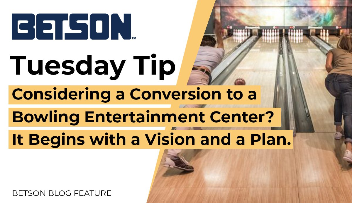 In today's marketplace, consumers are driven to establishments that entice audiences with multiple offerings and that are experience-based. #bowling #tuesdaytip #entertainment https://www.betson.com/bowling-leagues-arent-enough/…