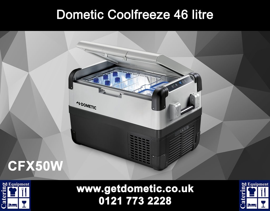 Coolfreeze 50W Powered Coolbox http://getdometic.co.uk/add-products/cfx-50w.aspx … #catering #camping #chef #restaurant #birmingham