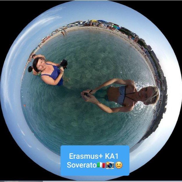 #ErasmusPlus 🇪🇺KA1 Staff Movility 🇮🇹📸🌞⛱😉☝️ #VeranoSEPIE twitter.com/sepiegob/statu…