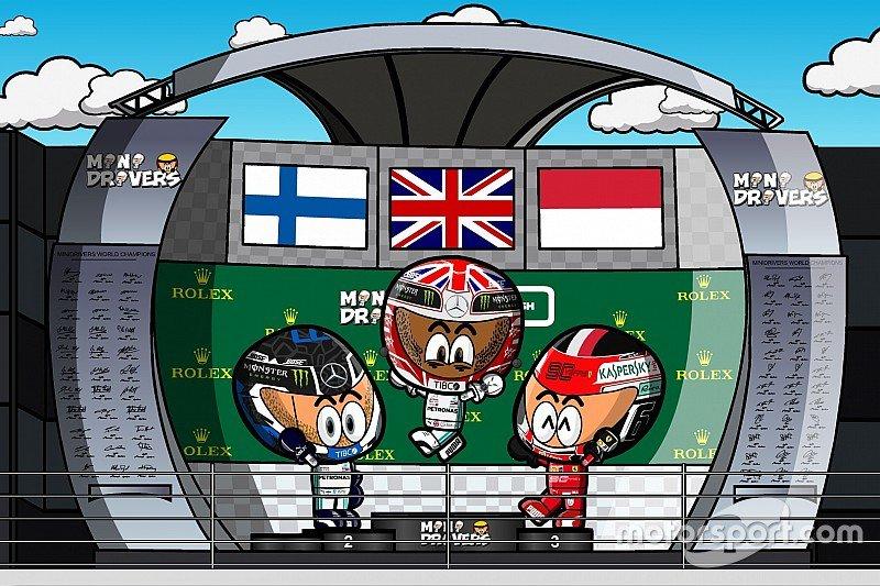 Video: el GP de Gran Bretaña visto por los divertidos @OfficialMinis   https://bit.ly/32xDmES #F1 #BritishGP #GPGranBretaña