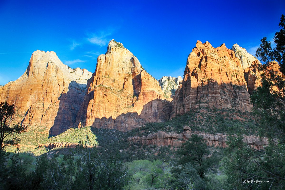 #Discover the #geology that makes #Zion #NationalPark #scenic and unique at http://rocdoctravel.com! #travel #Utah #hiking #backpacking #trails #AngelsLanding #camping #outdoors #trip #vacation #hashtag