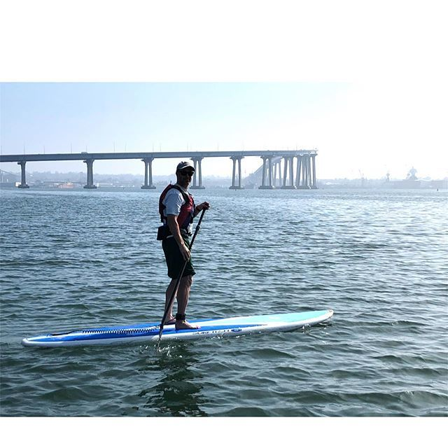 I may be one of the last people to have tried stand up paddle boarding but I finally did it.  It was a great one hour workout and my core will thank me for it.  #paddleboarding #standuppaddle #exercise #core #coreworkout #calories #ocean #waterworkout #f… https://ift.tt/2lyDVwU