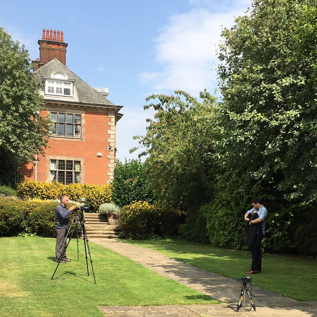 We may be in the middle of #summer but we're already looking ahead to autumn/winter. Today we're filming a series of videos at @dunchurchpark to ensure our store staff know our brand-new products, quite literally, inside out.  #ComingSoon #ForEveryJourney #Training