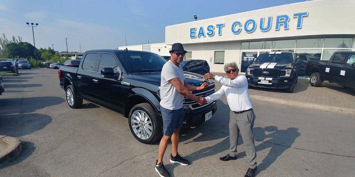 """Sold by #Faizal 😎 😎 😎  #brand #new #ford #f150 #limited #edition #sold at #2019 #employee #pricing Are you looking for a #betterdeal than #employee #pricing ??? Call #faizal @ 416-292-1171 or Google """"East Court Ford Faizal"""" #ecford #ontario #toronto #photography #performace"""