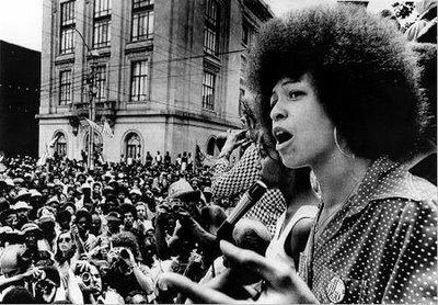 "Her words are so important and relevant. Especially now. ""In a racist society, it is not enough to be non-racist—we must be anti-racist."" — Angela Davis, 1979"