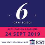 Image for the Tweet beginning: Countdown to #ICAT 2020 PhD