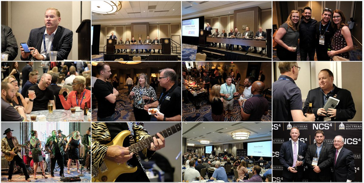 That's a wrap! Thanks to all those who were able to attend our National Sports Safety & Security Conference & Exhibition last week in New Orleans, presented by @johnsoncontrols. Despite some weather issues, we had a successful event! View photos: https://t.co/AyciCIT7I4 #NCS4conf https://t.co/oFG2yIlubr