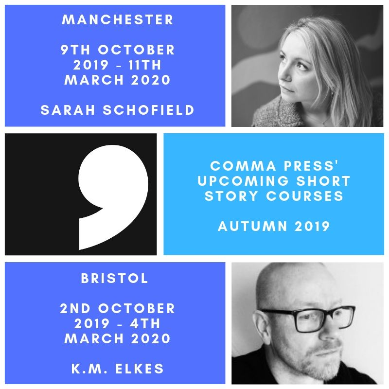Are you an aspiring short story writer? Or just looking for some new prompts and guidance? Sign up today for one of our Autumn short story writing courses, coming to #Bristol and #Manchester this October. More details and alumni feedback: commapress.co.uk/resources/shor… #amwriting