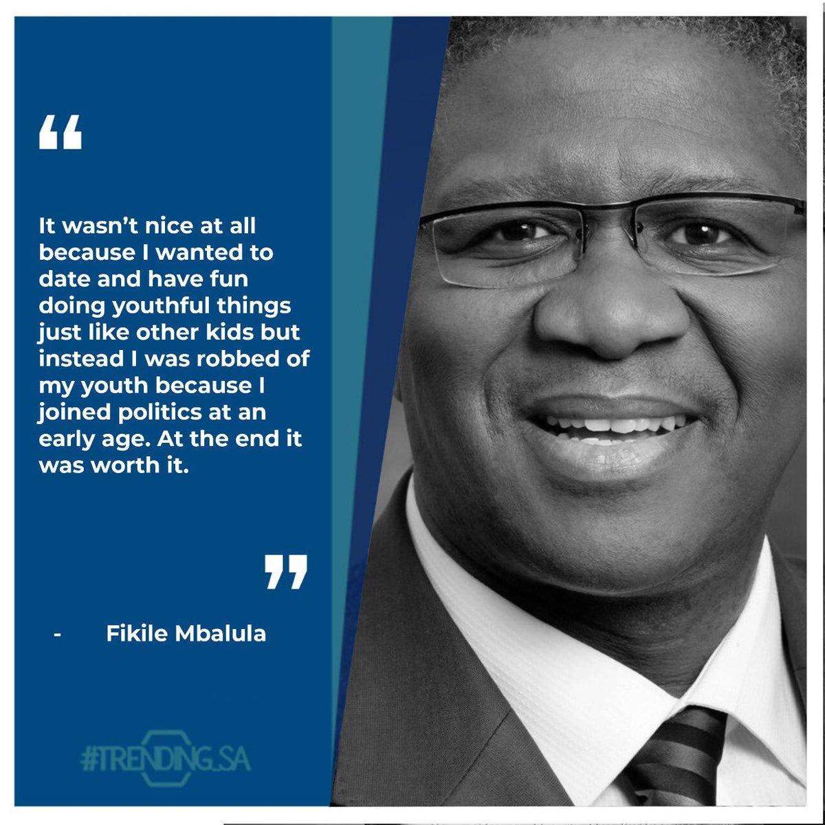 Minister of Transport @MbalulaFikile on growing up in Botshabelo #tsaon3 #tsaonline