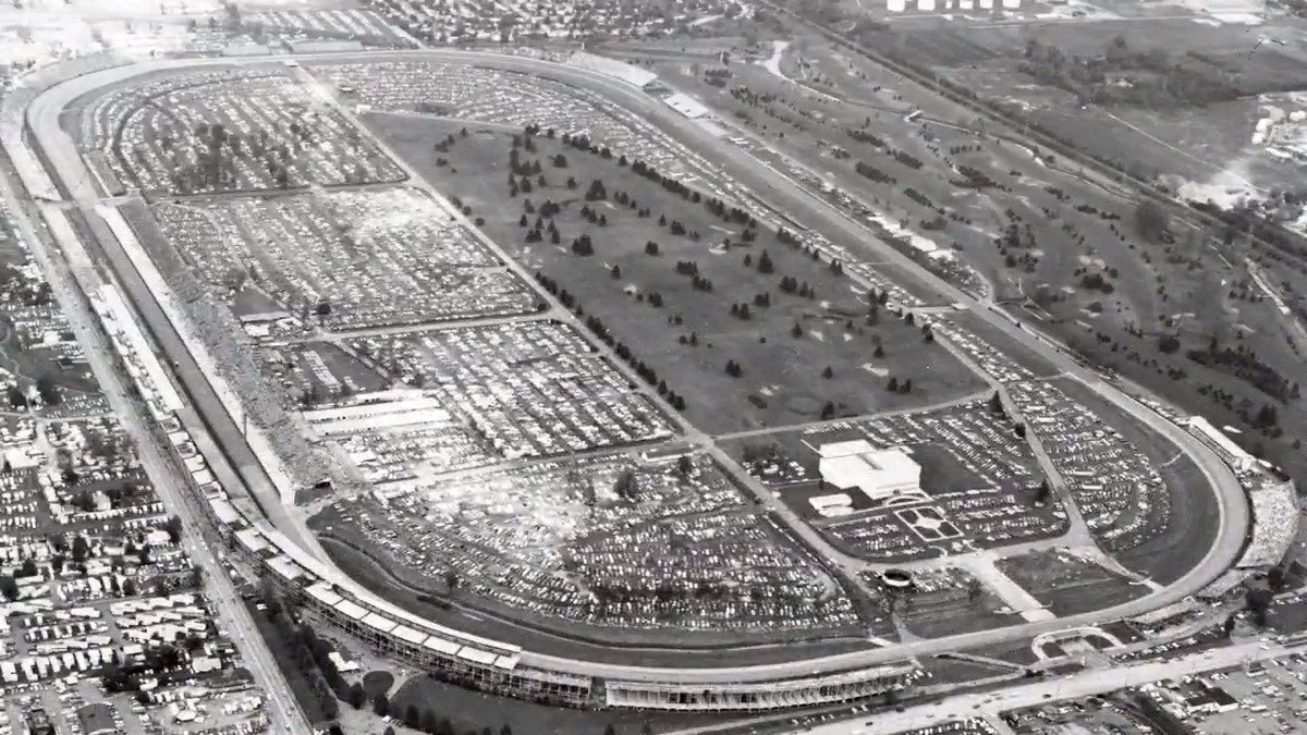 Take a #tbt look back at some of the aerial views of #IMS from over the years! Can you guess which year each shot is from? #IsItMayYet | #Indy500