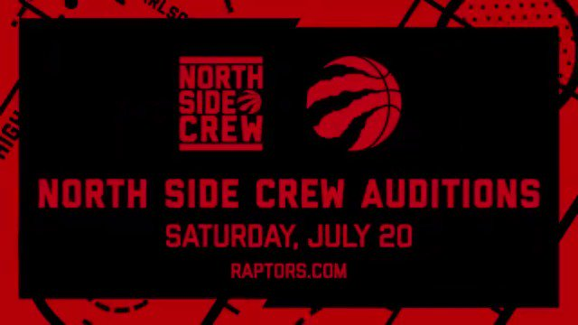 Got what it takes to dance with the @NorthSideCrewTO? Come out July 20th & show us what you got. Audition details » rpt.rs/auditions