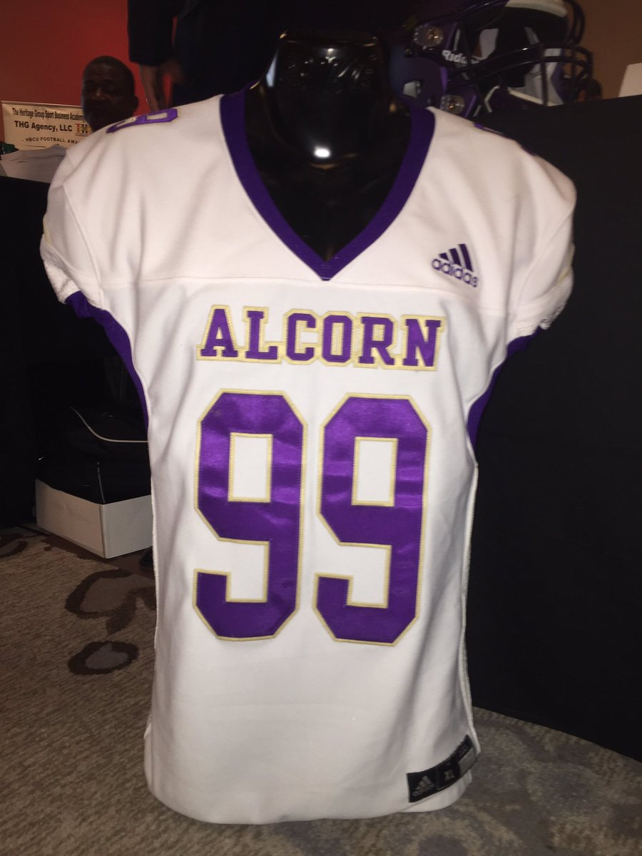 2d08b007 New jerseys for Alcorn State ...