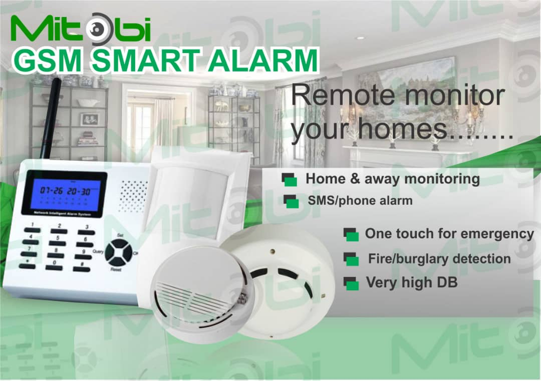 Connect with your home from anywhere in the world, Affordable and seamless process Contact @ @LimitedMitobi on 08033133950 #security #firealarm #detectors #smokedetectors #firedetectors #gasdtectors #mitobi #surveillancesystem #safety #remotemonitoring