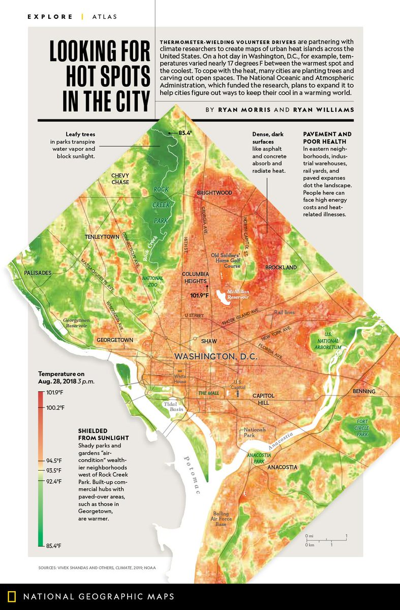 To prepare for rising temperatures, scientists map urban 'hot spots' https://on.natgeo.com/2kdUUEn